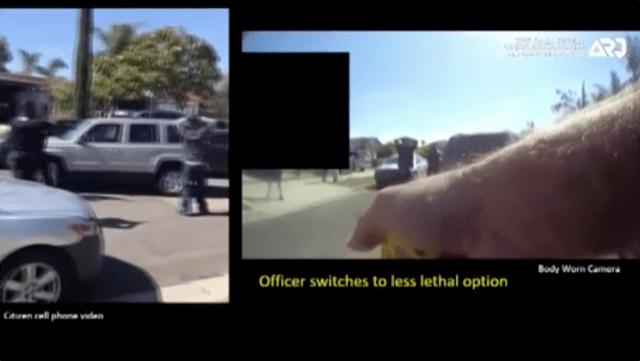 David Avila tasing video by Oceanside police.