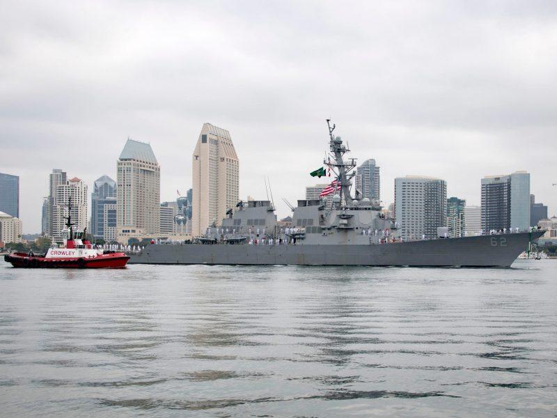 U.S. Navy accident fatalities