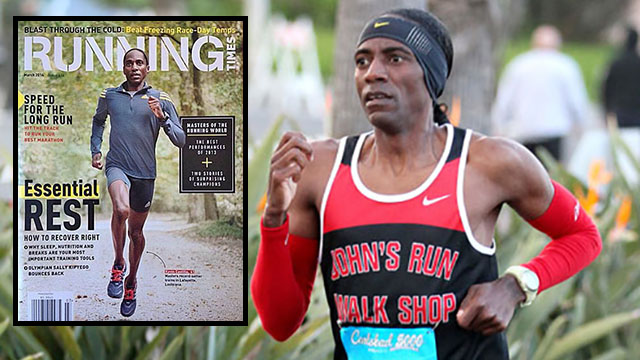 Kevin Castille, a poster boy for a late-blooming runner, was featured in Running Times and other publications, which noted his having sold crack cocaine in his 20s.