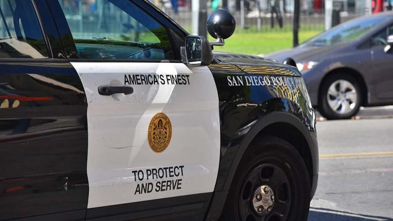 San Diego Police cruiser