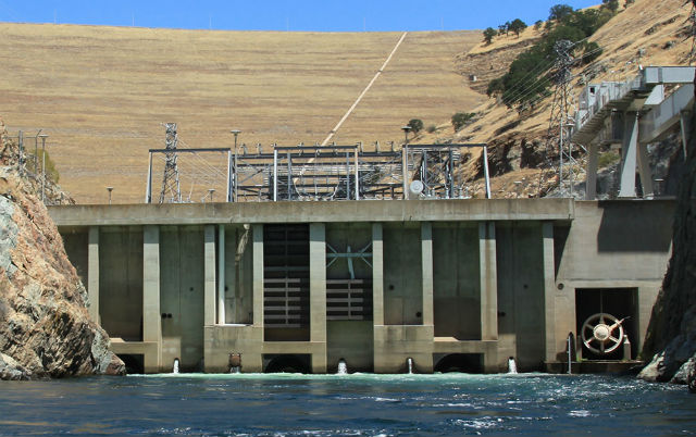 Powerhouse of the Don Pedro Dam