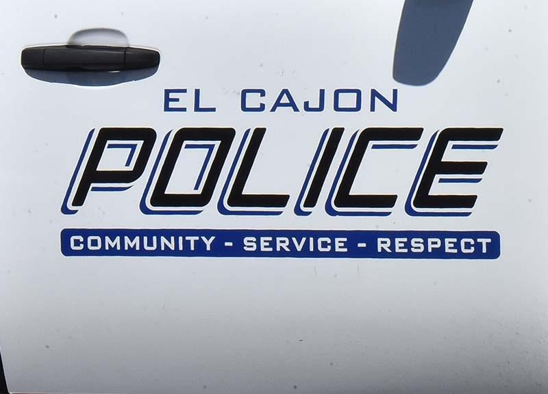 El Cajon Police cruiser