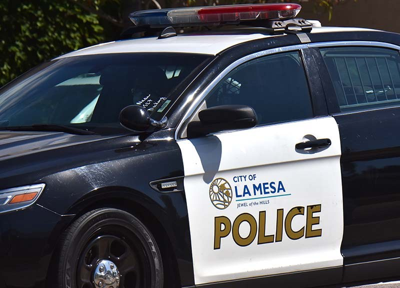 La Mesa police.