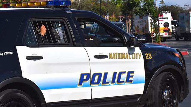 National City Police cruiser