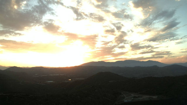 Sunrise from Red Mountain