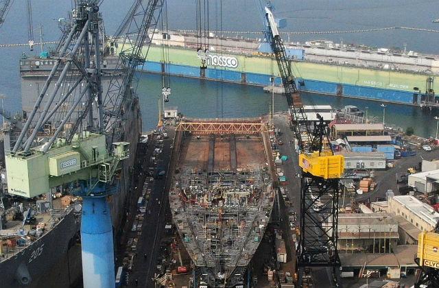 USNS Harvey Milk under construction