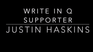 "n Screen shot from Vimeo video urged viewers to ""write in Q supporter Justin Haskins."" Description Copy Link https://timesofsandiego.com/wp-content/uploads/2020/10/Darrell2.png Required fields are marked *  Folders  Root Folder Layout  Default layout set in the theme options ATTACHMENT DISPLAY SETTINGS Alignment Left Link To Media File URL https://timesofsandiego.com/wp-content/uploads/2020/10/Darrell2.png Size Medium – 300 × 169 Selected media actions"