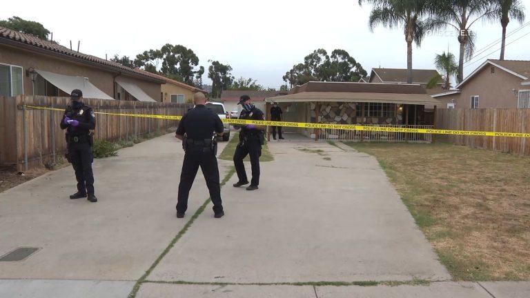 El Cajon Homicide Investigation