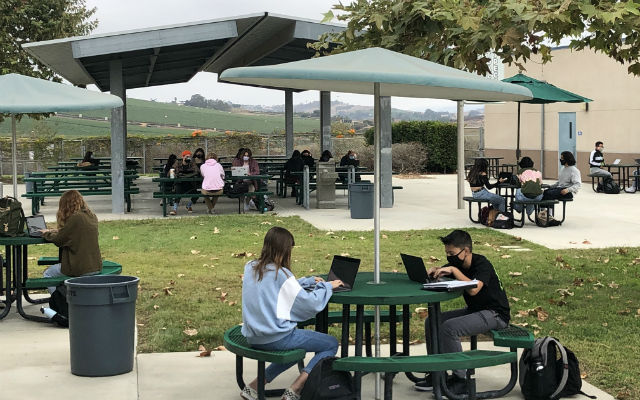 Students at Mission Vista High School