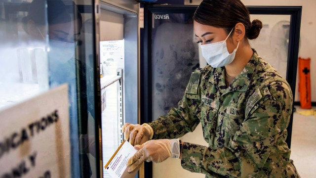 Navy Coronavirus Warp Speed