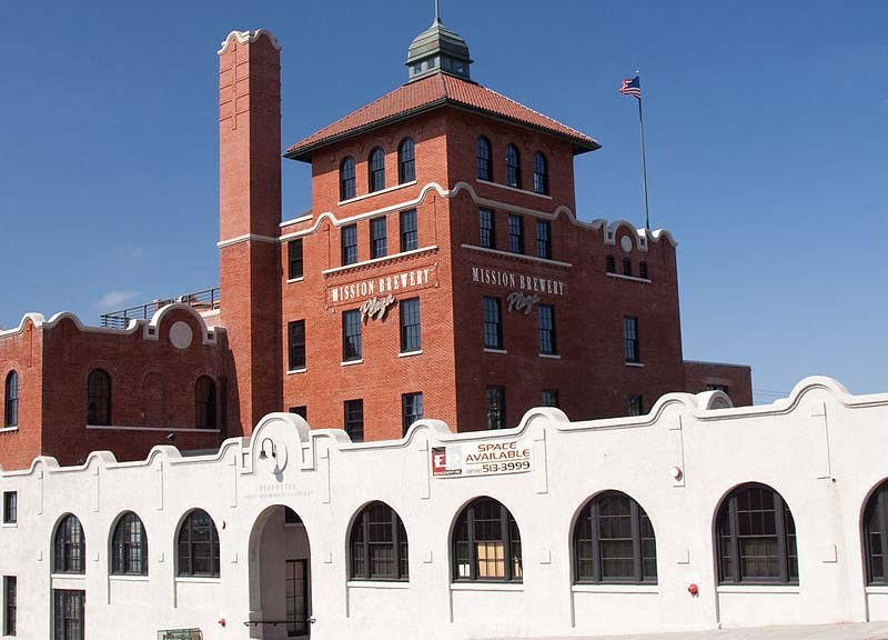 Mission Brewery is at 1441 L St. in the historic Wonder Bread building, built in 1894.
