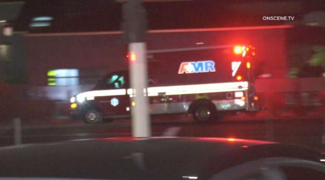 Ambulance at scene