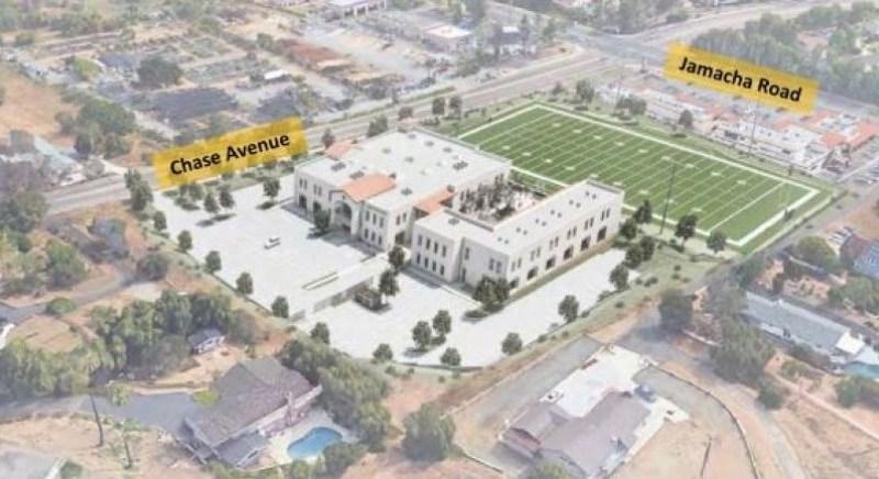 Propsed campus.