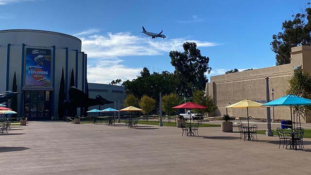 Palisades Plaza in Balboa Park open as a public gathering place the way it was designed when it first opened in 1935.