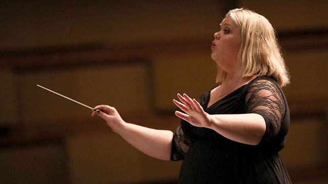 Amy Villanova will receive the California Music Educators Association Byron Hoyt/Don Schmeer Band Educator Award in mid-February. Photo via SDUHSD