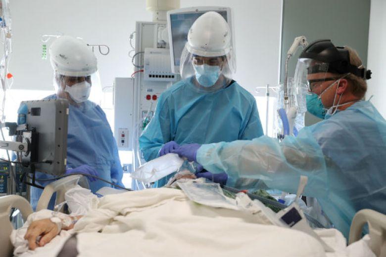 Coronavirus patient in ICU in Mission Viejo