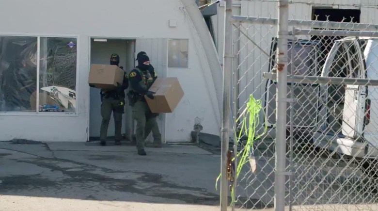 Illegal dispensary East County Warrant