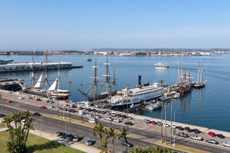 San Diego Bay Maritime Museum Attractions