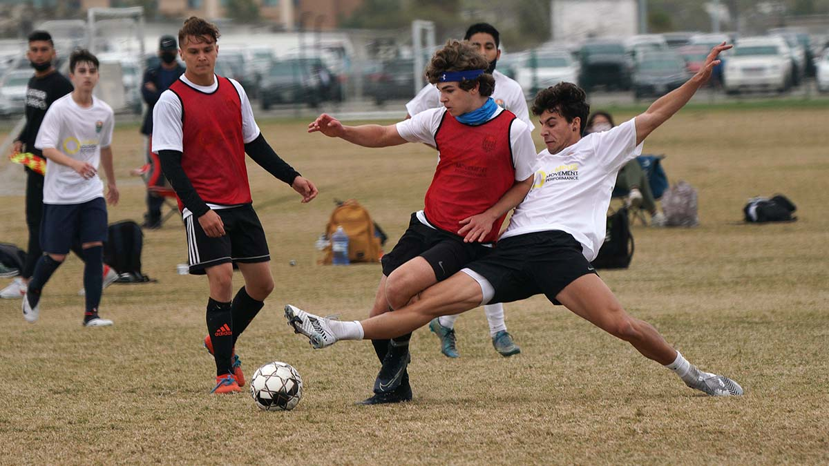 One hundred and fifty youth try to fulfill the dream of playing with the San Diego Loyal Soccer Club during a tryout in Oceanside.