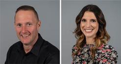 Wayne Partello and Katie Jackson