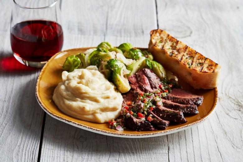 Chimichurri grass-fed steak