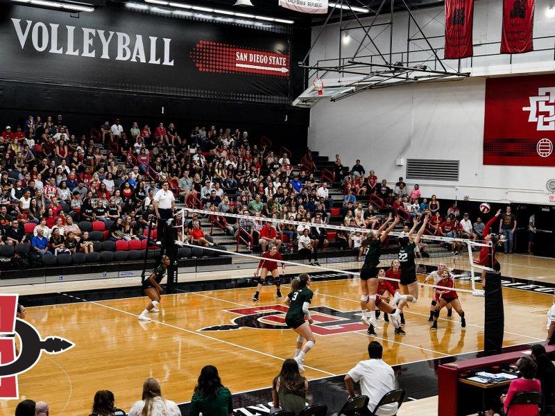 SDSU women's volleyball