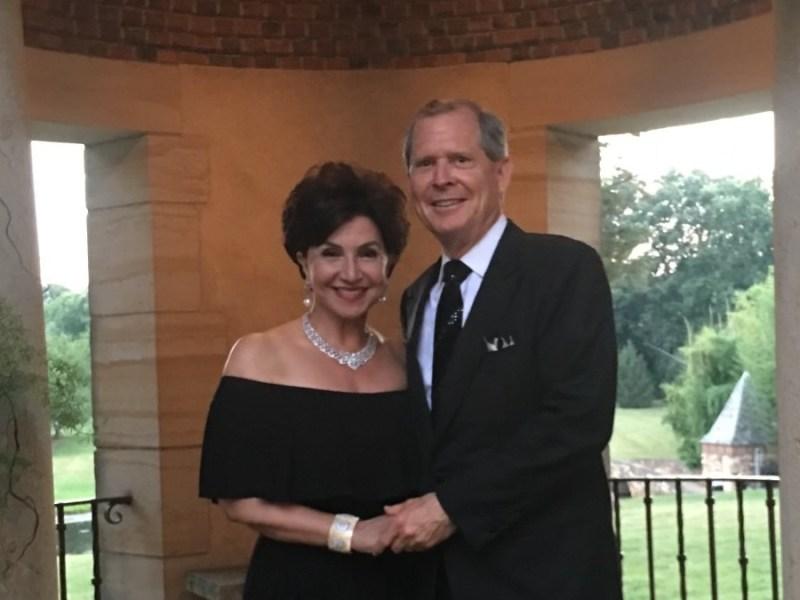 San Diego philanthropists David and Annie Malcolm