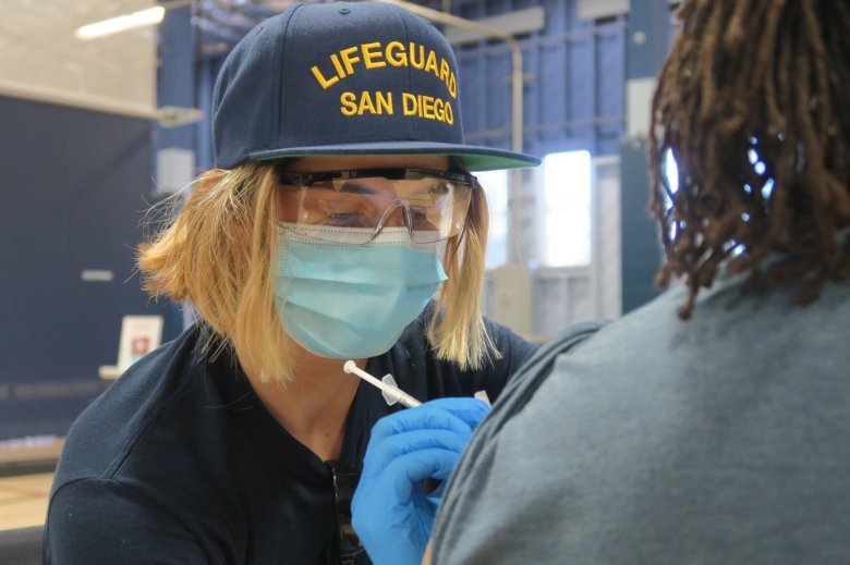SDFD vaccinations