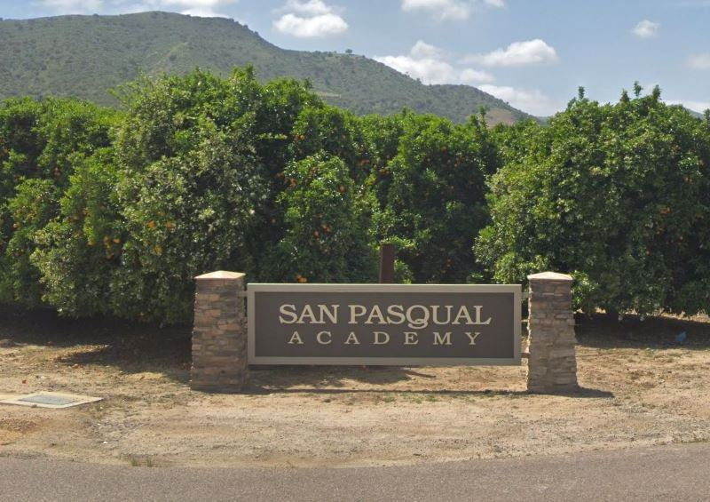 Entrance to San Pasqual Academy