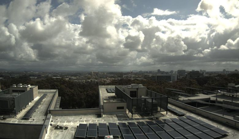 Clouds over University City