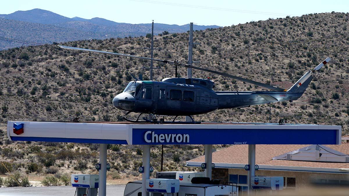 Vietnam-era Bell Helicopter, called a Huey for its original HU-1 designation, cost Reagan Shallal $42,500.