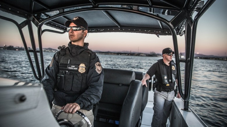 CBP marine patrol