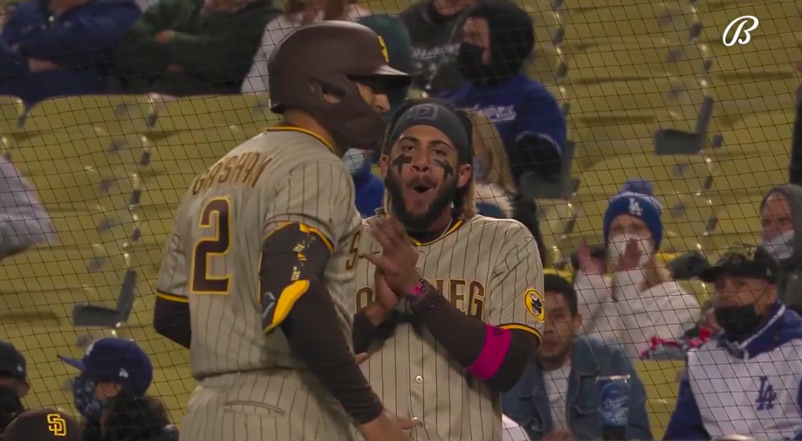 Padres Shake Off Doldrums With Thrilling Late Double Play, Hold On to Beat L.A. 3-2 - Times of San Diego