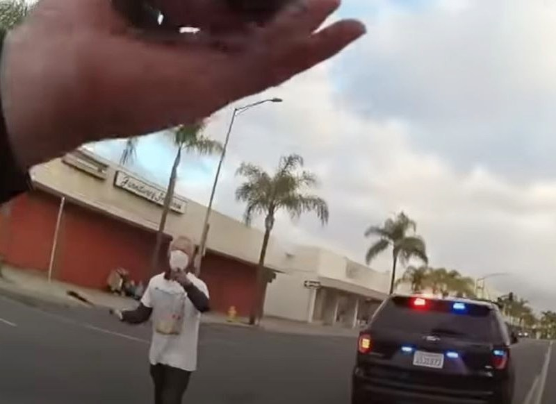 Image from body camera video