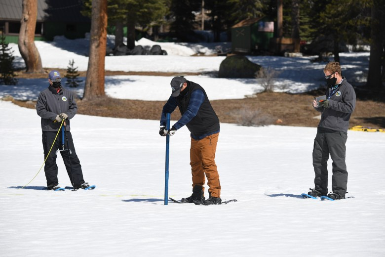Measuring the snowpack