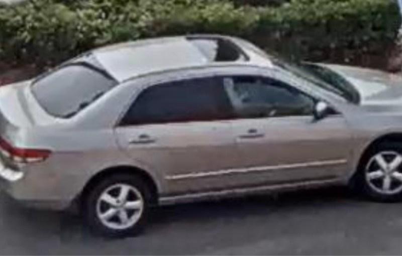 Suspect Honda Accord
