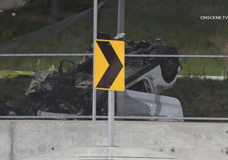 Vehicle wreckage