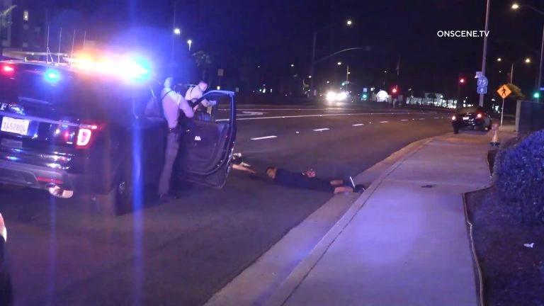 Deputies stop fleeing car