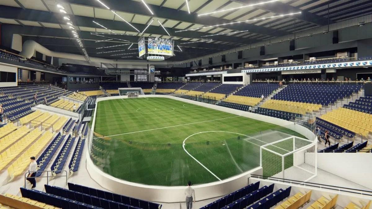 Arena soccer Oceanside