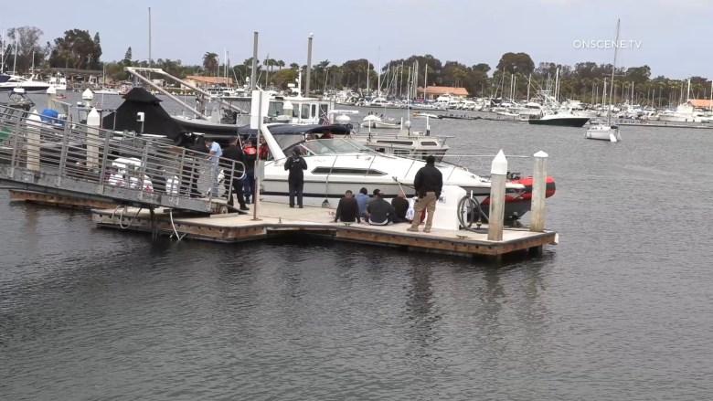 Smuggling boat