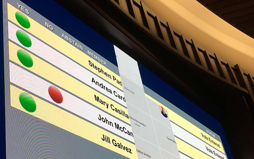 Councilman John McCann said he voted against plan to rename Discovery Park.