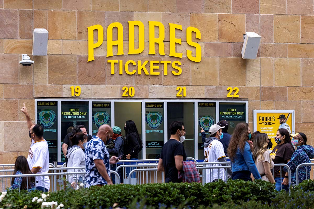 Padres tickets