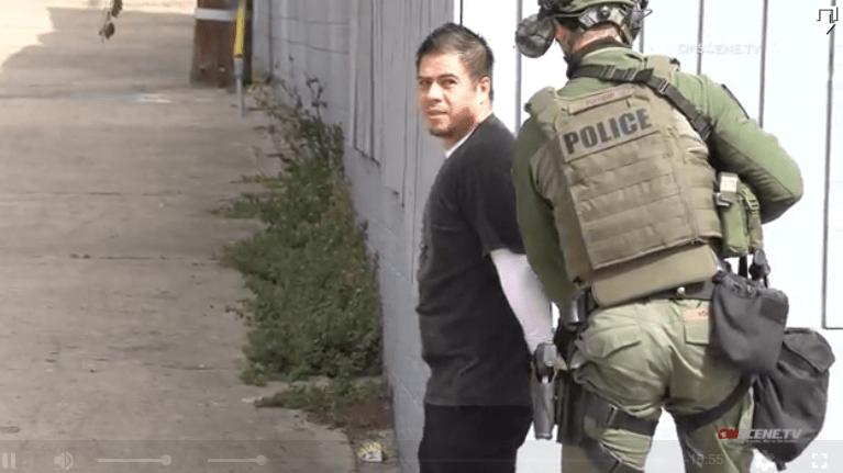 San Diego police arrest man after SWAT standoff.