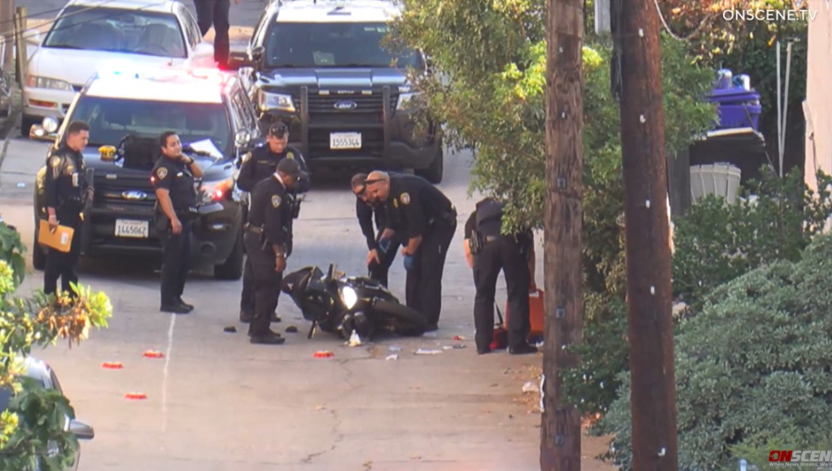 San Diego police and shooting