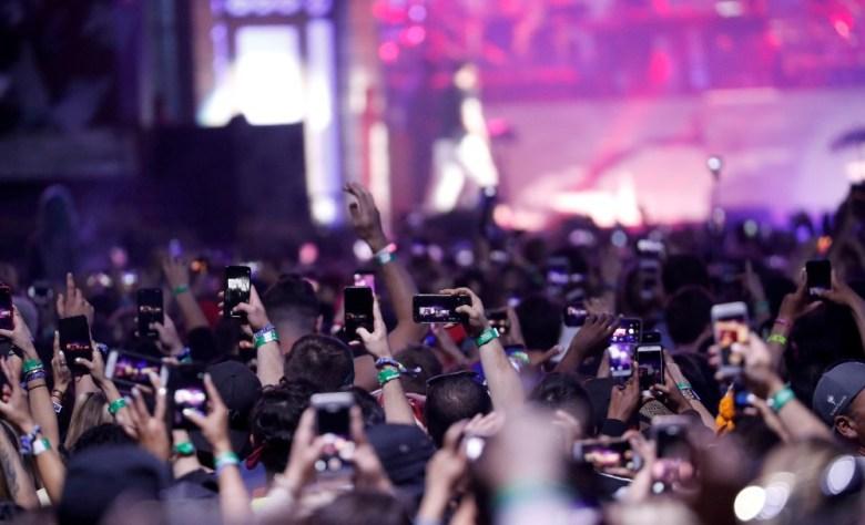 Eminem at Coachella in 2018
