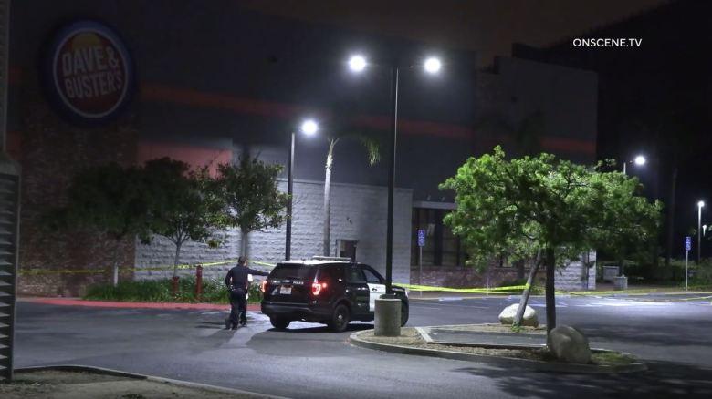 Crime scene in Mission Valley