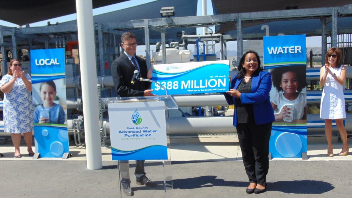 EPA loan presented