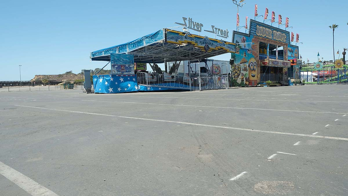More rides are ready to be set up, with room for more later. Photo by Chris Stone