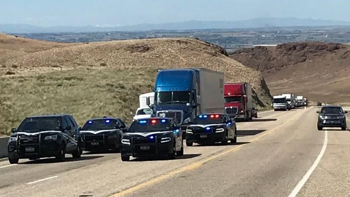 Scene of crash in Idaho