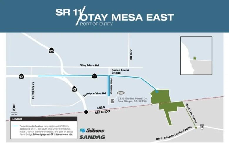 Puerto de entrada Otay East